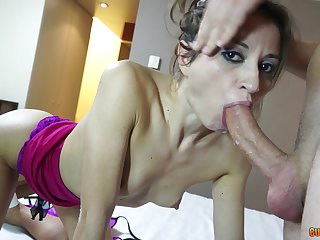 After she prepares cunt hottie is obtainable for rough sex with a friend