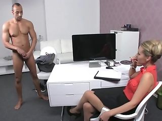 Czech gal chef makes Greek boy go thru exclusive audition exhausted porn