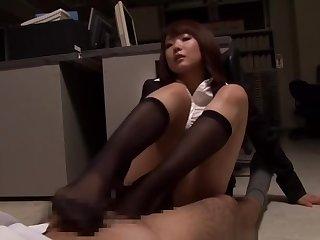 Japanese Black Socks Femdom