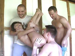 Katerina has a good age with three cocks