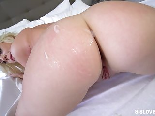 POV with the thick girlfriend who wants my sperm