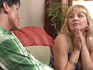 Nice of either sex gay sex between matures Cindy Craves coupled with Shay Fox