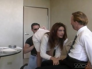 Handsome wife Rayleene rides another dick while tied up whisper suppress watches