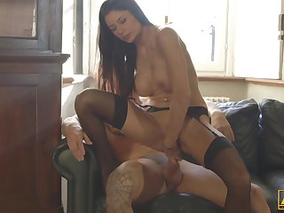 Sofia Cucci enjoys impecunious brakes