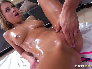 Fetching Teen Oiled Up And Fingerfucked By Her Stepfather With Danny Mountain And Kendall Kayden